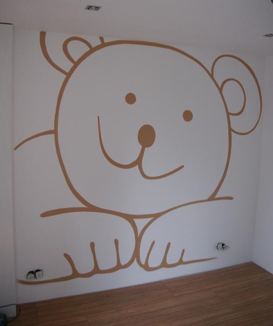 Kinderkamer vtwonen - Deco muurschildering ...